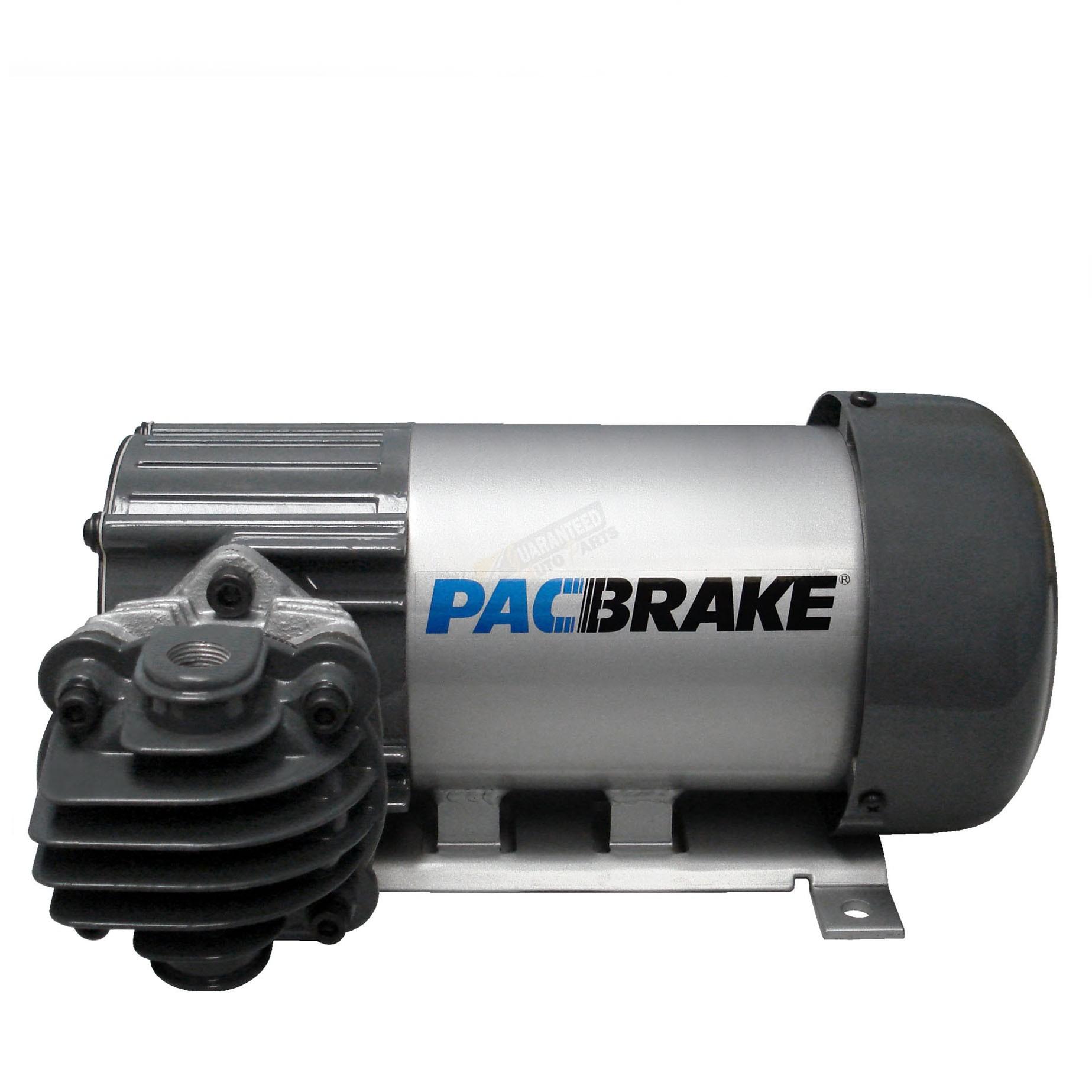 12 Volt Air Compressor Heavy Duty >> Pacbrake Hp625 Series Air Compressor Horizontal 12 Volt