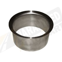 "PacBrake 4"" Stainless Steel Exhaust Adapter - C11342"