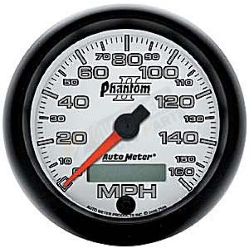 Autometer Phantom Ii Speedometer Gauge - In-dash