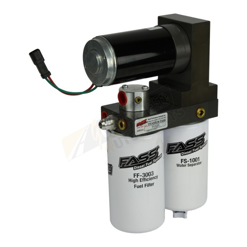 FASS Titanium Signature Series Air/Fuel Separation System - 250 GPH - TS D07 250G