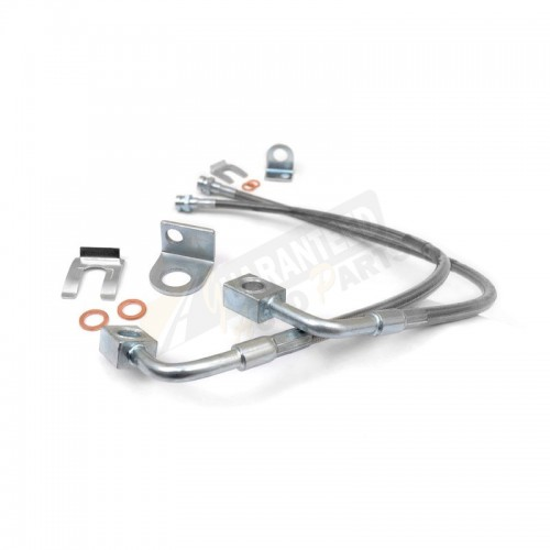 Rough Country Extended Brake Lines - Front - 89707