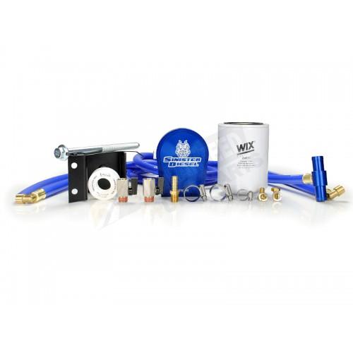 Sinister Diesel Coolant Filtration System - WIX Filter - SD-COOLFIL-5.9-03-W