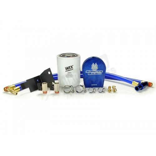 Sinister Diesel Coolant Filtration System - WIX Filter - SD-COOLFIL-6.0-W