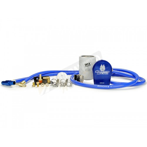 Sinister Diesel Coolant Filtration System - CAT Filter - SD-COOLFIL-6.4-C