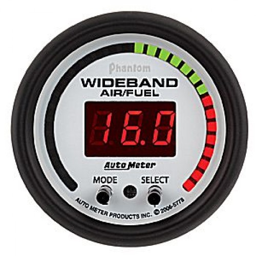 Autometer Phantom Wideband Air/Fuel Ratio PRO Gauge - Digital - (Size: 2  1/16