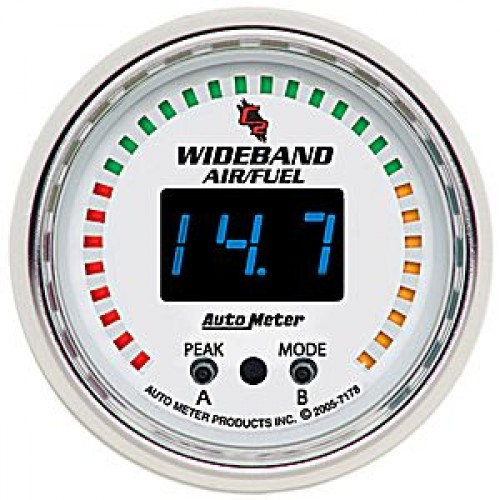 Autometer C2 Wideband Air/Fuel Ratio PRO Gauge - Digital - (Size: 2 on vintage gas gauge schematic, electrical voltage meter schematic, sunpro amp gauge wiring schematic, auto meter trans temp gauge diagram, auto meter temperature gauge wiring, auto meter fuel level gauge wiring,